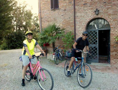 Sono arrivati due ciclisti!